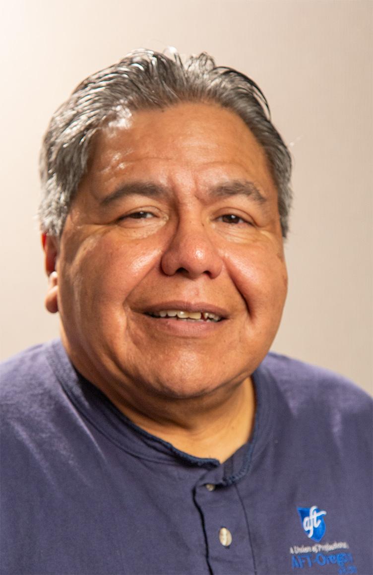 AFT-Oregon President Jaime Rodriguez